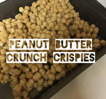 Peanut Butter Crunch Crispies