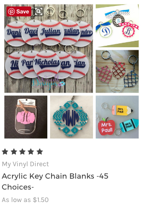 Where to Buy Blanks for Vinyl Crafting -