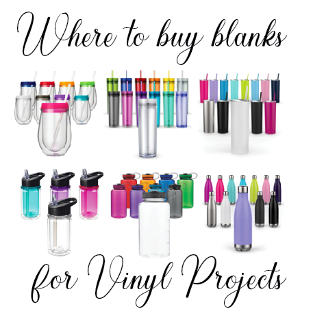 Where To Buy Blanks For Vinyl Crafting